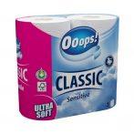 Ooops wc-papír 3 rétegű classic - 4db