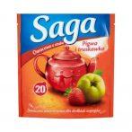 Saga gyümölcs tea birs-eper 20 filter - 34g